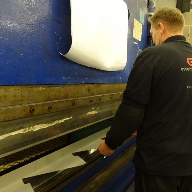 Press Break Sheet Metal Worker – Metal Folding and Fabrication